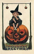 vintage-halloween-little-girl-witch-pumpkin-black-cat-card1[1]
