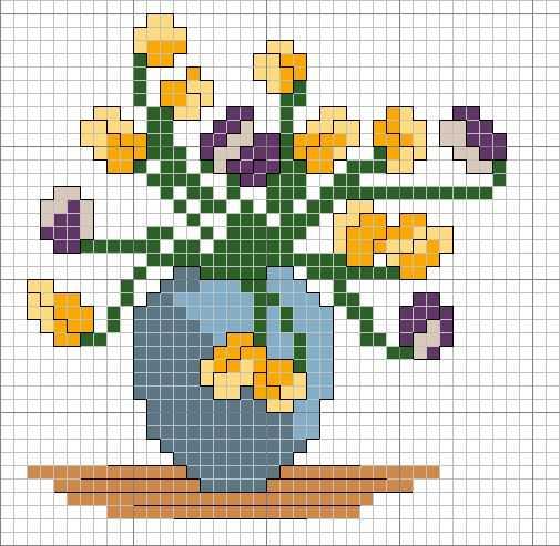 Avance Primaveral Cenefas De Flores