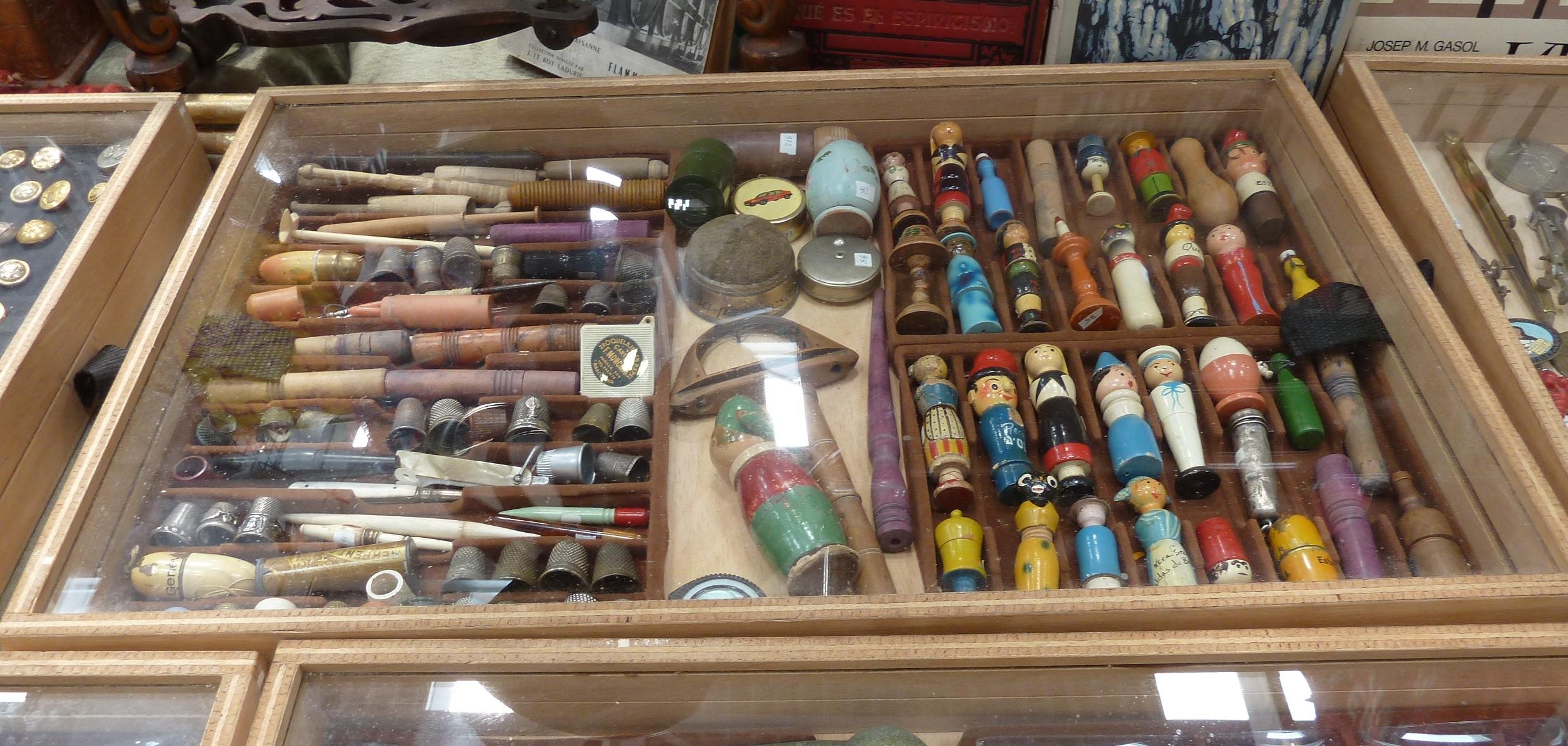Colecciones con los hilos en la masa - Mercado antiguedades barcelona ...