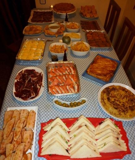 cena fin año 2012