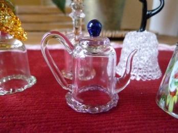 cristal tetera