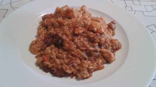 paella verduras carne-3